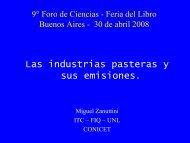 Las industrias pasteras y sus emisiones.