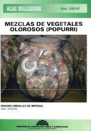 MEZCLAS DE VEGETALES OLOROSOS (POPURRI) - Ministerio de ...
