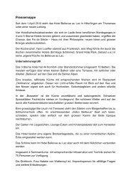 Pressemitteilung - Ralf Oberer