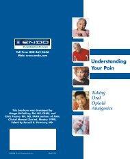 Taking Oral Opioid Analgesics Understanding Your Pain