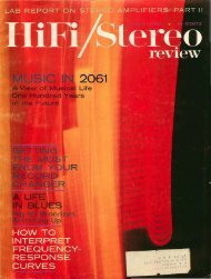 HiFi/Stereo Review August 1961 - Vintage Vacuum Audio