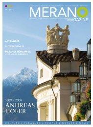Merano Magazine - Sommer 2009
