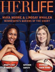 MAYA MOORE & LINDSAY WHALEN - HER LIFE Magazine