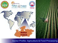 Sector Profile: Agriculture & Food Processing - Trifac