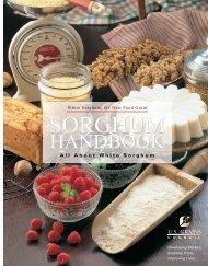 Sorghum Handbook - Agricultural Marketing Resource Center