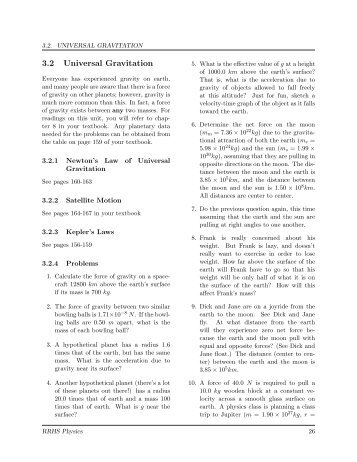 Worksheets Law Of Universal Gravitation Worksheet law of universal gravitation worksheet sharebrowse delibertad
