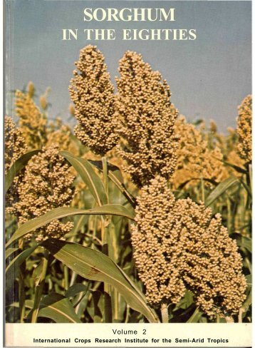 Sorghum in the Eighties - Open Access Repository of ICRISAT