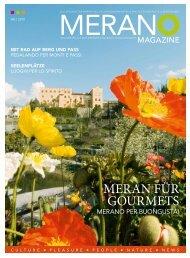 Merano Magazine - Sommer 2010