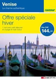 Venise - Le charme authentique - Railtour