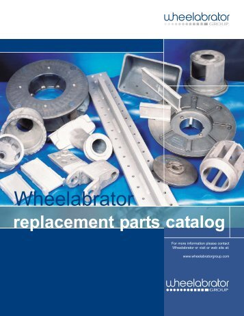Replacement parts catalog - Soluciones totales para la fundición