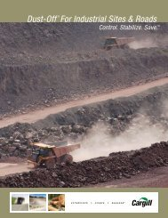 Dust-Off® For Industrial Sites & Roads - Cargill