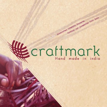 PDF catalog - All India Artisans and Craftworkers Welfare Association