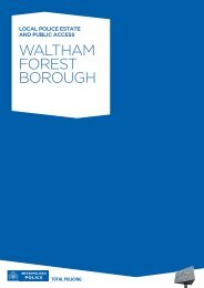 WALTHAM FOREST BOROUGH - Greater London Authority