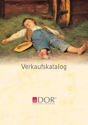 Verkaufskatalog - Dorbena AG