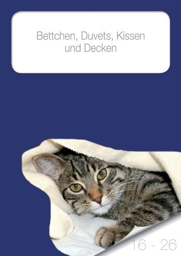 Bettchen, Duvets, Kissen und Decken