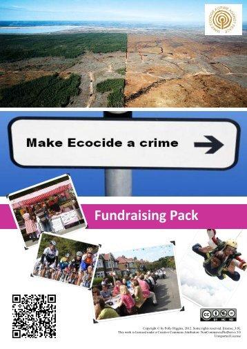 Fundraising Pack - Eradicating Ecocide