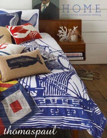 pillows throws accessories bedding - Thomas Paul