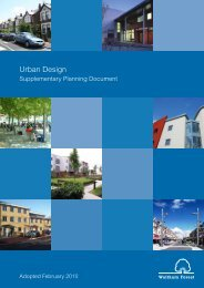 Chapter 5 Urban design principles - Waltham Forest Council