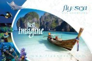 to download our current brochure - Fly and Sea Dive Adventures