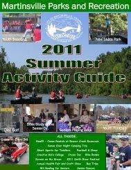 Martinsville Parks and Recreation - City of Martinsville, VA