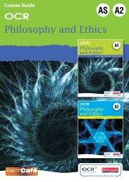 Philosophy and Ethics - Pearson Schools