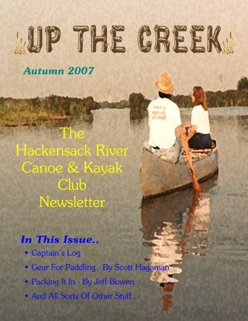 The Hackensack River Canoe & Kayak Club Newsletter