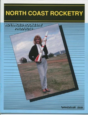 1989 North Coast Rocketry Catalog - Ninfinger Productions