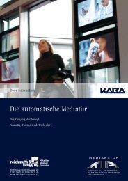Download Informationen / PDF Media Door - Reichmuth & Rüegg AG