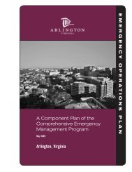 A Component Plan of the Comprehensive ... - Arlington County