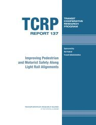 TCRP Report 137 - Transportation Research Board