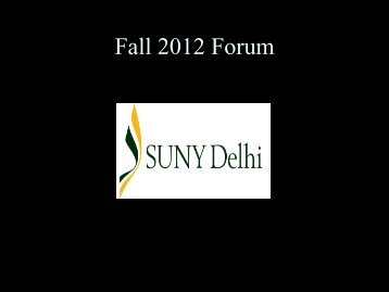 Student Life - SUNY Delhi