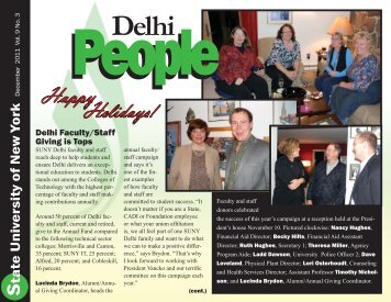 Happy Holidays! - SUNY Delhi