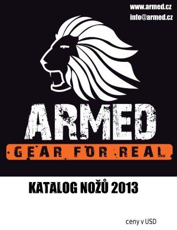 ARMED katalog noze 2013