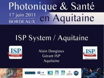 ISP Aquitaine - Un rendez-vous de la Route des Lasers