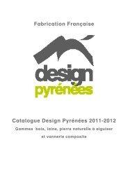 Le catalogue de la collection Design Pyrénées