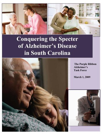 Conquering the Specter of Alzheimer's Disease in South Carolina