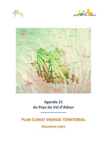Agenda 21 du Pays du Val d'Adour - Observatoire des Plans Climat ...