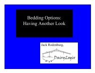 Bedding Options: Having Another Look - DairyLogix