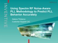 Accurate PLL Characterization Using Virtuoso Spectre RF Noise ...