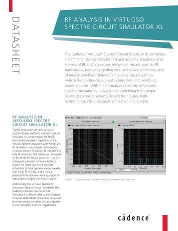 Cadence spectre manual