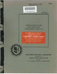 analytical chemistry division annual progress report for period ...