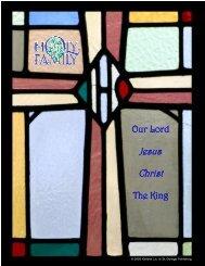 Jesus Christ Jesus Christ - Holy Family Parish