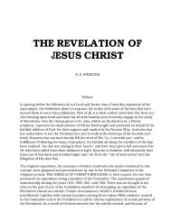 The Revelation of Jesus Christ - The Herald