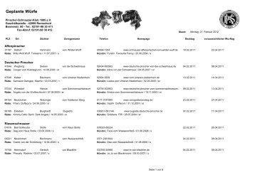 Februar 2011 - Pinscher-Schnauzer-Klub