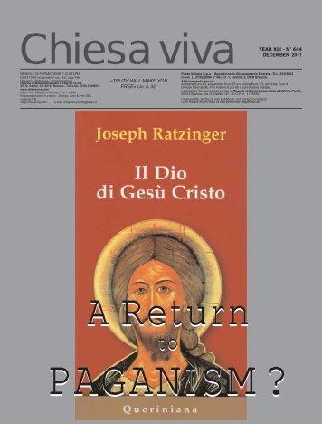 PAGANISM? - Father Luigi Villa