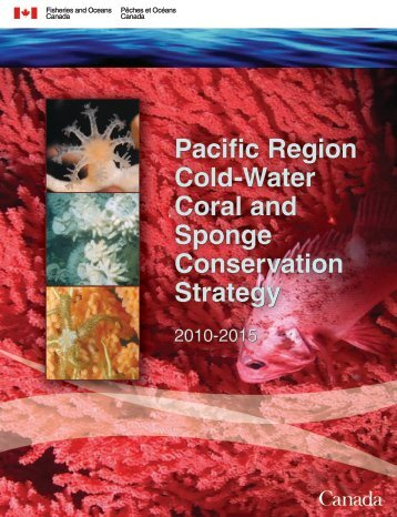 Pacific Region Cold-Water Coral and Sponge Conservation Strategy ...