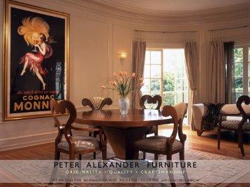 download brochure (4.7MB) - Peter Alexander Furniture