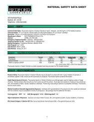 Fluconazole Injection in Sodium Chloride MSDS - Bedford ...