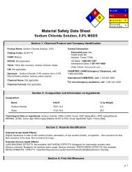 Saline - eScience Labs, LLC.