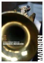Generalprogram Våren 2011 - Marinens Musikkår